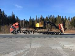 Перевозка негабаритных грузов. Аренда трала