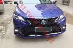 Бампер, Стиль Lexus на Toyota Camry 70 (2018 год)