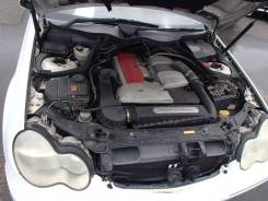 Патрубок интеркулера. Mercedes-Benz C-Class, W203