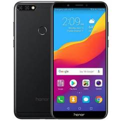 Huawei Honor 7C. Новый, 64 Гб, Черный, 3G, 4G LTE, Dual-SIM