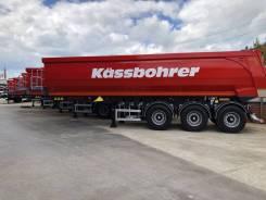 Kassbohrer. Самосвальный полуприцеп DL 32 m3, 31 000кг.
