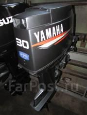 Yamaha. 30,00л.с., 2-тактный, бензиновый, нога S (381 мм), 2005 год год