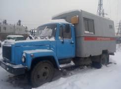 Лаборатория высоковольтная на шасси ГАЗ-5312. 4 240куб. см.