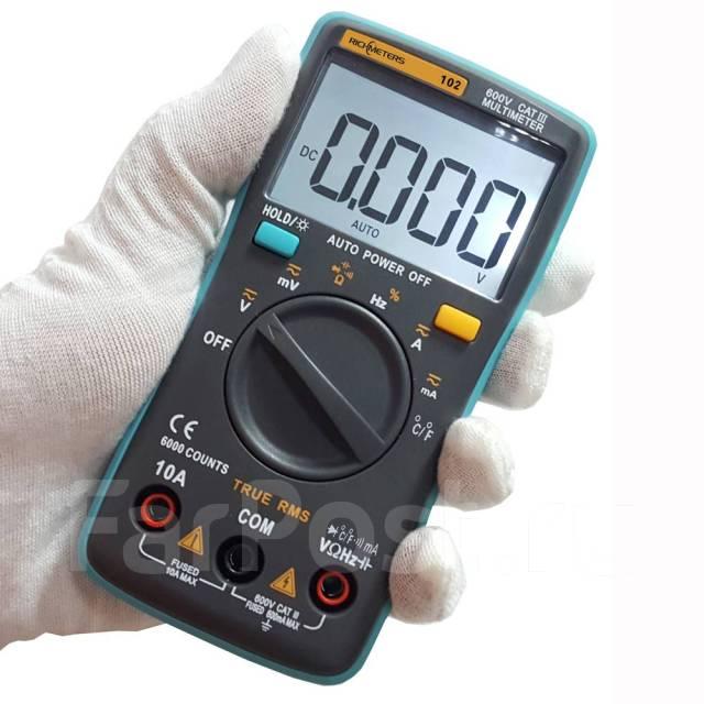<b>Мультиметр</b> цифровой <b>ZT102</b> + зонд т-ры - подарок мужчинам ...
