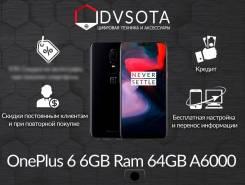 OnePlus 6. Новый, 64 Гб, Черный, 4G LTE, Защищенный