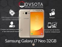 Samsung Galaxy J7 Neo. Новый, 16 Гб, Золотой