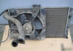 Радиатор охлаждения двигателя. Лада: Приора, 2110, 2108, 21099, 2109, 2113 Самара, 2114 Самара, 2115, 2115 Самара, 2111, 2112, 2113, 2114