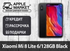 Xiaomi Mi8 Lite. Новый, 128 Гб, Черный, 3G, 4G LTE, Dual-SIM