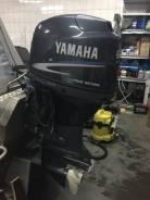 Yamaha. 60,00л.с., 4-тактный, бензиновый, нога L (508 мм), 2008 год год