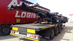 Kogel. Контейнеровоз Кегель SWCT 40 port универсальный новый в наличии, 30 200кг.