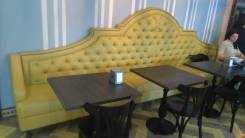 Мебель на заказ для ресторанов, кафе, баров по вашему проекту и размеру