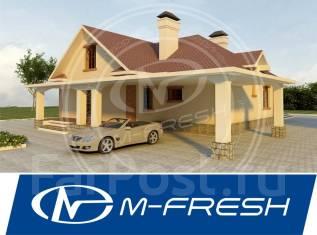 M-fresh Relax (Проект одноэтажного дома с мансардой! ). 200-300 кв. м., 1 этаж, 5 комнат, кирпич