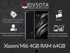 Xiaomi Mi6. Новый, 64 Гб, Черный, 4G LTE, Dual-SIM, Защищенный