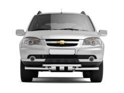 Защита бампера. Chevrolet Niva, 21236 Двигатели: Z18XE, BAZ2123