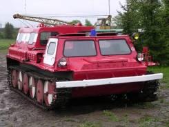 Услуги (аренда с водителем) гусеничного транспортера ГАЗ-71