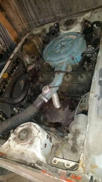 Двигатель Toyota 13T-U в разбор