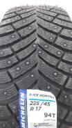 Michelin X-Ice North 4. Зимние, шипованные, 2018 год, без износа, 4 шт