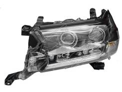 Фара левая Toyota LAND Cruiser 200 15- LH LED Executive Black / White