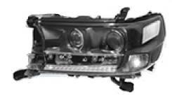 Фара правая Toyota LAND Cruiser 200 15- RH LED Executive Black / White