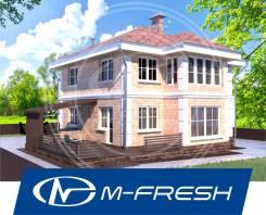 M-fresh Majesta Focus (Проект 2-этажного дома с полным 2 этажом! ). 200-300 кв. м., 2 этажа, 5 комнат, бетон