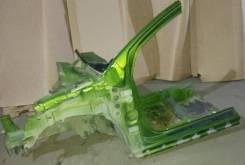 Лонжерон передний левый четверть стакан стойка порог citroent c2 03-. Citroen C2