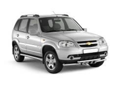 Накладка на порог. Chevrolet Niva, 21236 Двигатели: Z18XE, BAZ2123