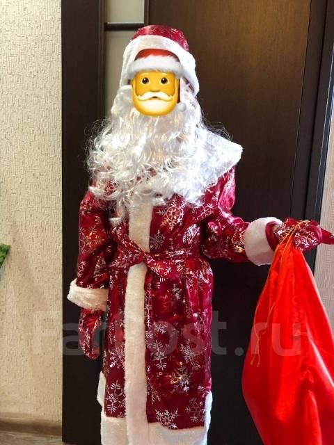 Новогодние костюмы дед мороз, снегурочка, цыганка, гном, зайка ... efaa83c3fda
