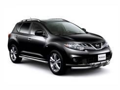 Накладка на порог. Nissan Murano