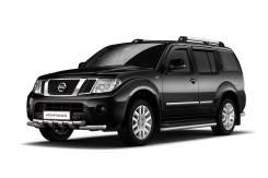 Накладка на порог. Nissan Pathfinder