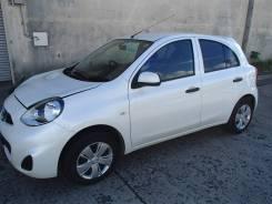 Nissan March. вариатор, передний, 1.2 (79л.с.), бензин, 34тыс. км, б/п. Под заказ