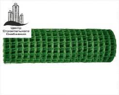 Сетка садовая ПНД в рулоне 0,8х20 м, ячейка 15х20 мм, зеленая