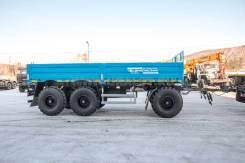 Уралспецтранс. Прицеп бортовой контейнеровоз ПК 15-33-6 УСТ-94651, 15 000кг.