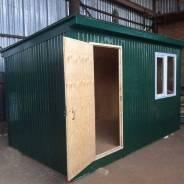 Домик 2 х 4 метра без электропроводки, утеплитель ПСБС 5 см