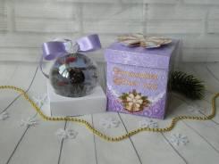 Елочный шар с фотографией. Подарок на новый год. Под заказ