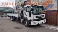 Daewoo Novus. с КМУ Horyong HRS206 в наличии, 10 964куб. см., 15 000кг., 6x4