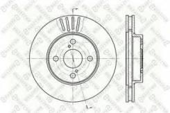Диск торм. пер./ toyota Stellox 6020-4582V-SX Fiat / Lancia / Alfa: 4123639. Lexus: 0449250011. Renault