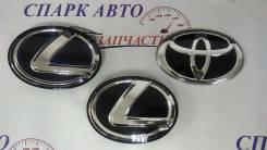 Эмблема Toyota, Lexus RX, GX, синяя, темная 53141-48100, 53141-48110, 9097502192