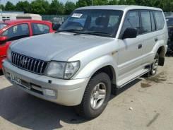 Ступица (кулак, цапфа) Toyota Land Cruiser Prado (90) - 1996-2002, левая задняя