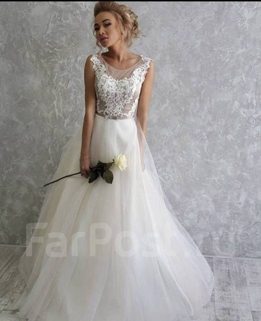 ad19d726732 Воздушное свадебное платье. Новое - Свадебные платья