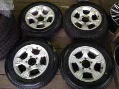 """Колёса 175/80R16 Dunlop диски оригинал Suzuki 5x139,7. 5.5x16"""" 5x139.70 ET22"""