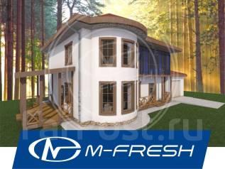 M-fresh Aristocrat (Посмотрите вот этот проект дома с гаражом! ). 200-300 кв. м., 2 этажа, 4 комнаты, бетон
