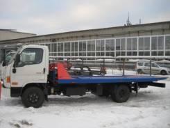 Hyundai HD78. Эвакуатор c подъемно-сдвижной платформой на шасси , 3 933куб. см., 4x2