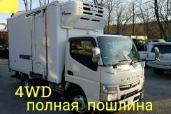 Mitsubishi Fuso Canter. Mitsubishi Canter 4WD, рефрижератор 3 тонны, 3 000куб. см., 3 000кг., 4x4