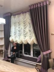Пошив штор для загородного дома под ключ. Тип объекта загородный дом, срок выполнения неделя