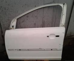 Дверь передняя левая голая Форд Фокус 2 до рестаил белая