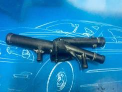 Корпус термостата. Volkswagen: Passat, Touareg, Phaeton, Passat CC, Eos Skoda Superb, 3T4, 3T5 Audi Q7, 4LB Двигатели: AXX, AXZ, BKC, BKP, BLF, BLP, B...