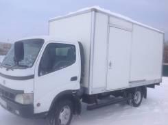 Toyota Dyna. Тойота дюна рессорная ТНВД простой фургон 20м3, 4 900куб. см., 3 500кг., 6x2