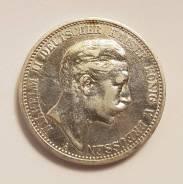Германия - Пруссия 2 марки 1904 А Серебро