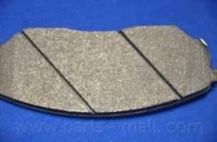 Колодки дисковые Parts-Mall PKB-020 Hyundai / Kia (Mobis): 58101-3ED00 58101-3EE00 581013EU01 581013EU03 581013ED01 581013ED03 581013ED02