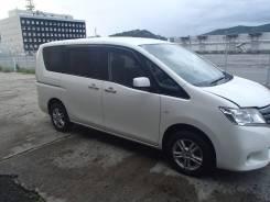 Nissan Serena. вариатор, 4wd, 2.0 (144л.с.), бензин, 35тыс. км, б/п. Под заказ